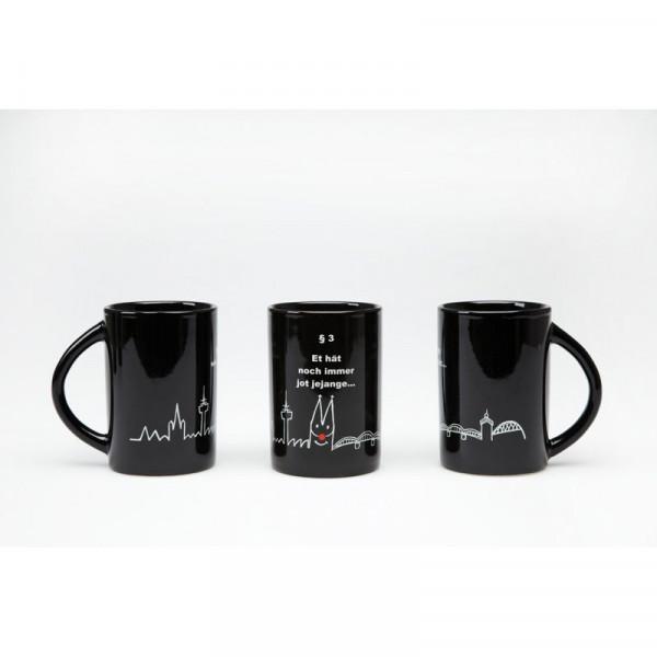 Kaffeebecher schwarz §3